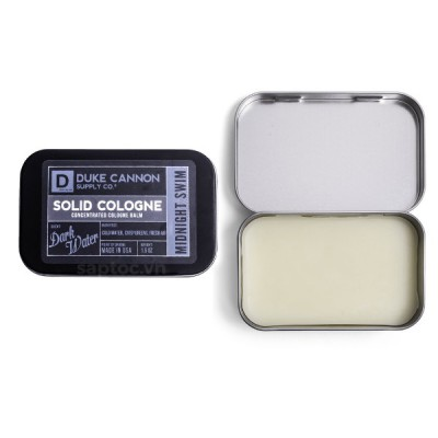 Nước hoa khô Duke Cannon Midnight Swim Solid Cologne