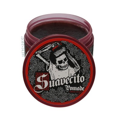 Suavecito Firme Strong Hold Dark Woods Pomade