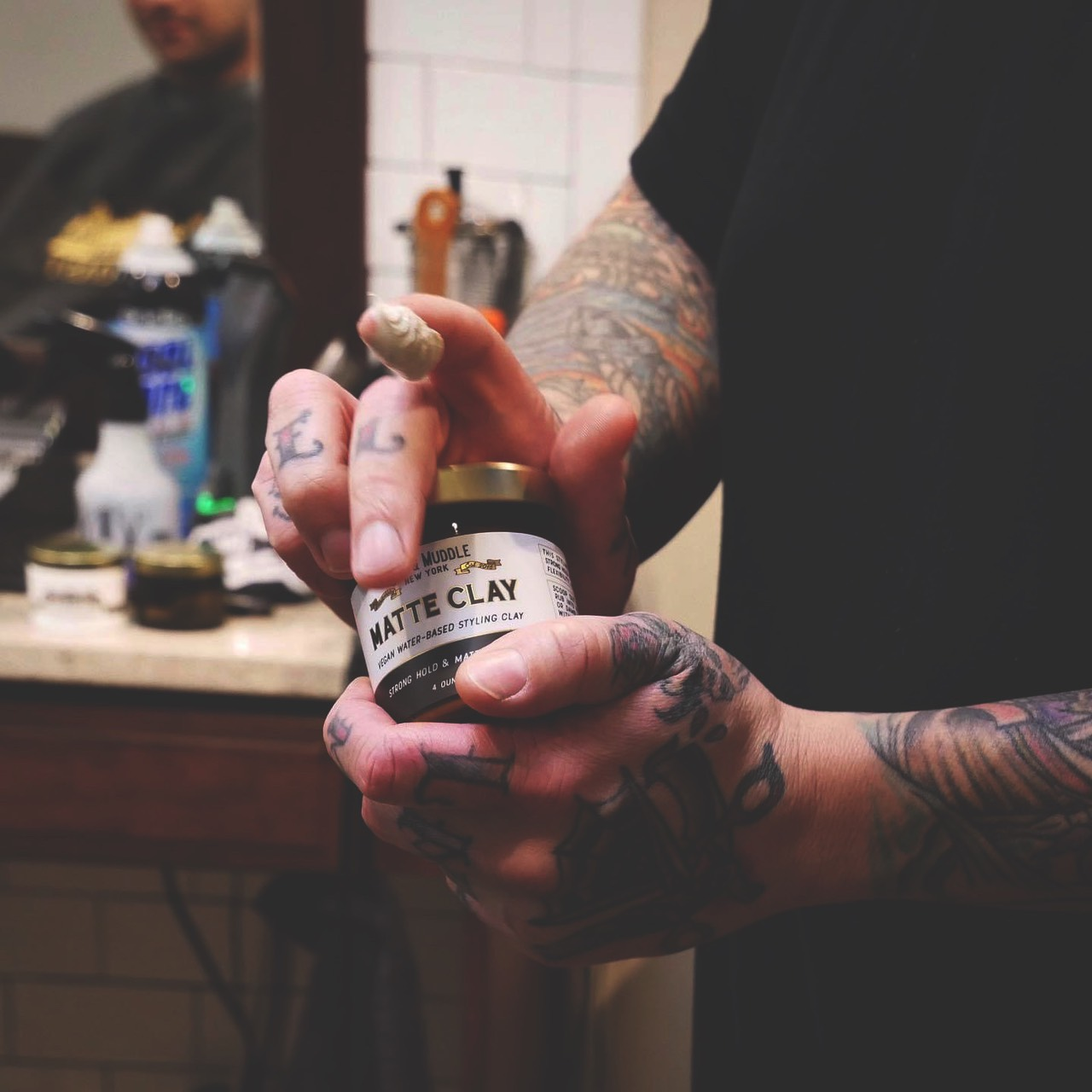 Pomade Matte Clay Root and Muddle