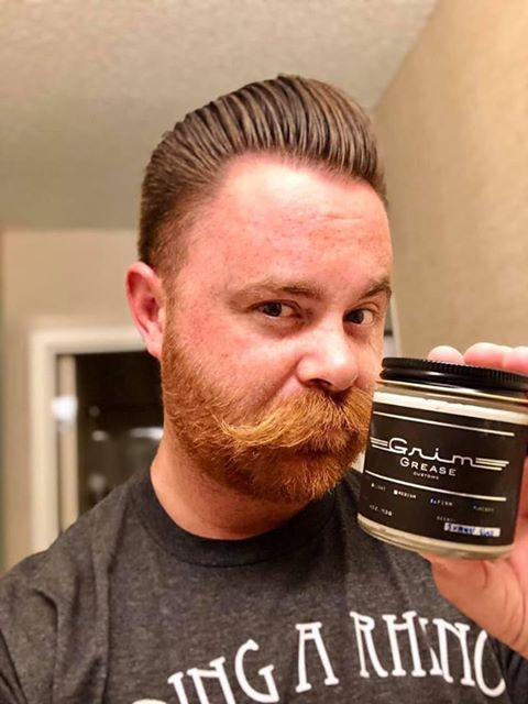 Grim Grease Heavy Clay Pomade