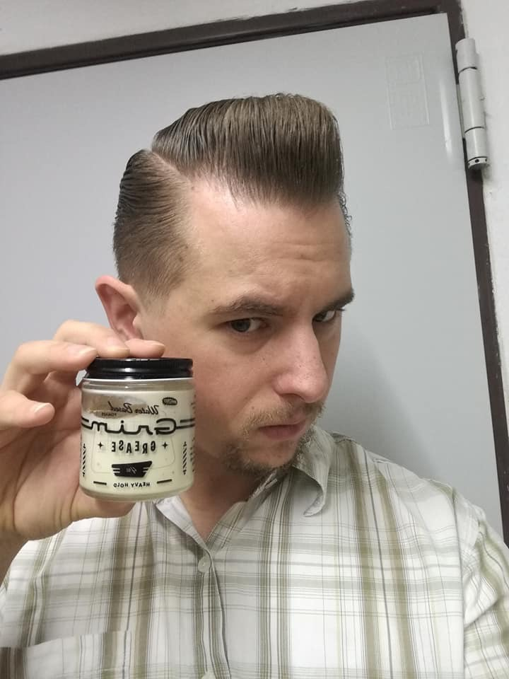Grim Heavy Hold Pomade