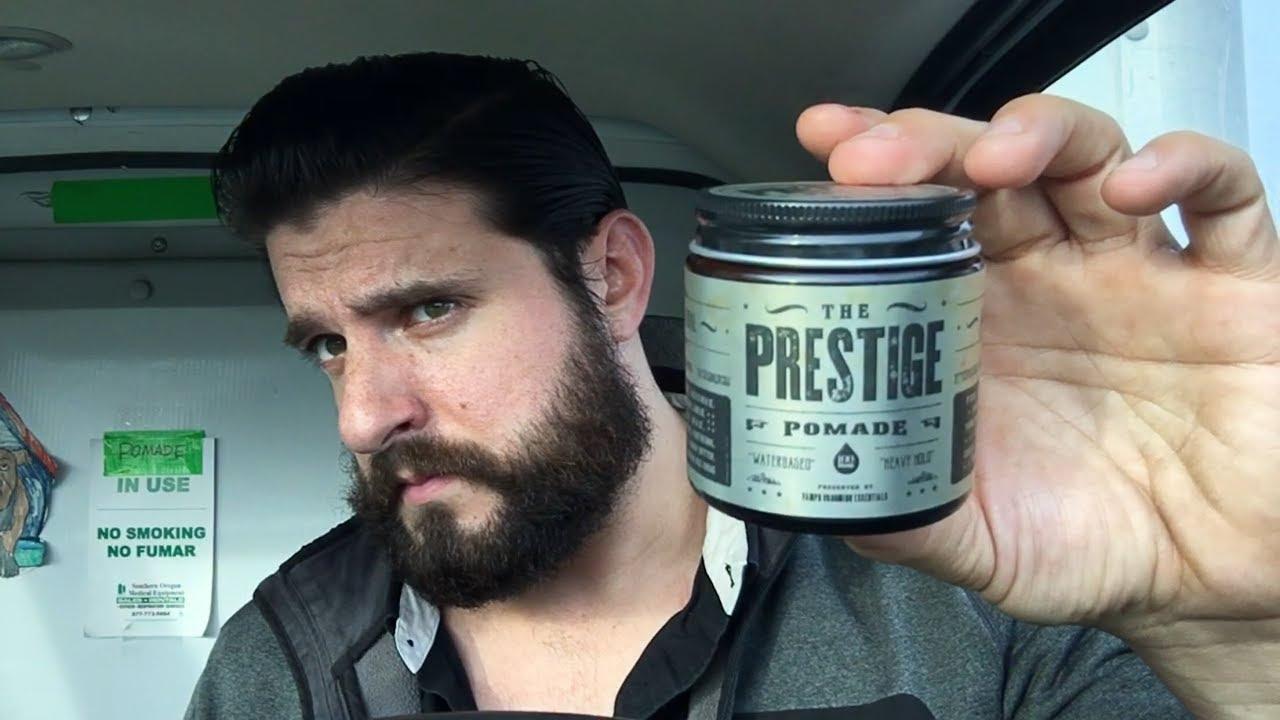 The prestige pomade heavy