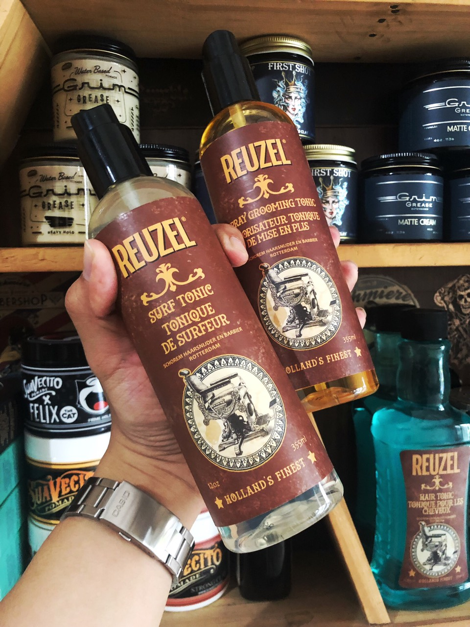 Dầu dưỡng tóc Reuzel Hair Tonic