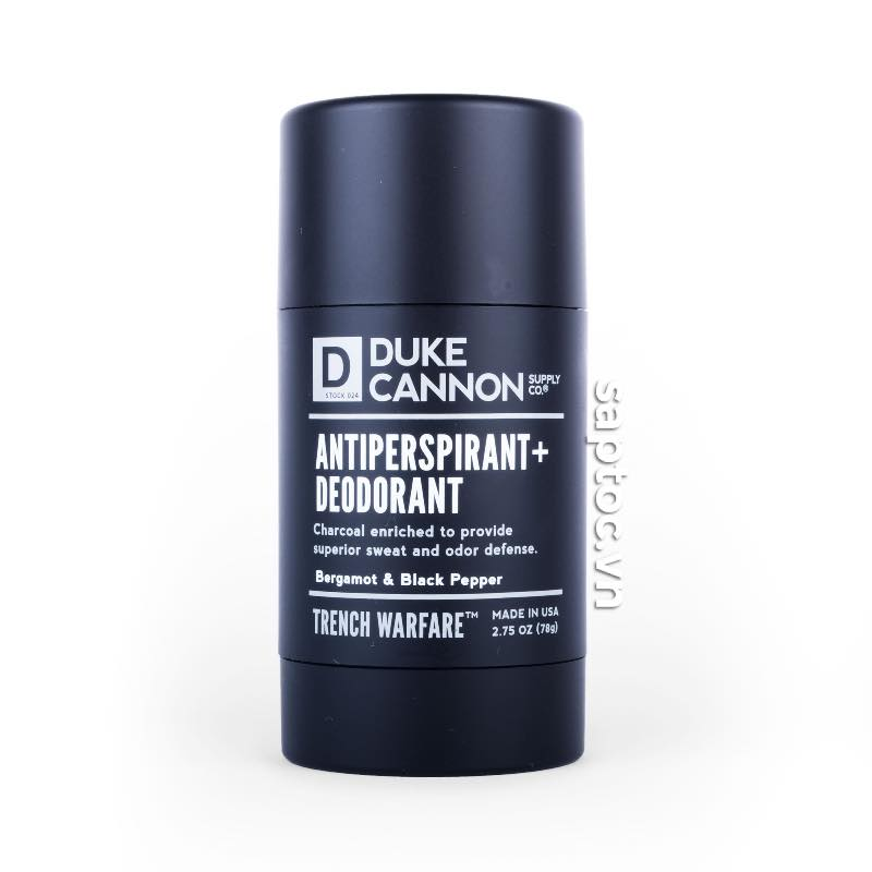 Lăn khử mùi Duke Cannon Deodorant Bergamot Black Pepper