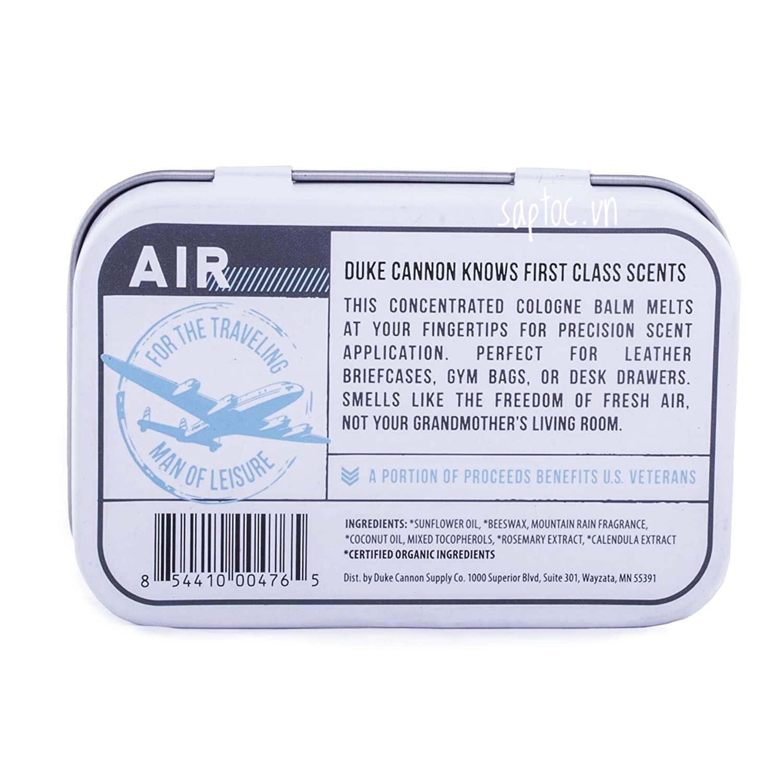 Nước hoa khô Duke Cannon Air Solid Cologne