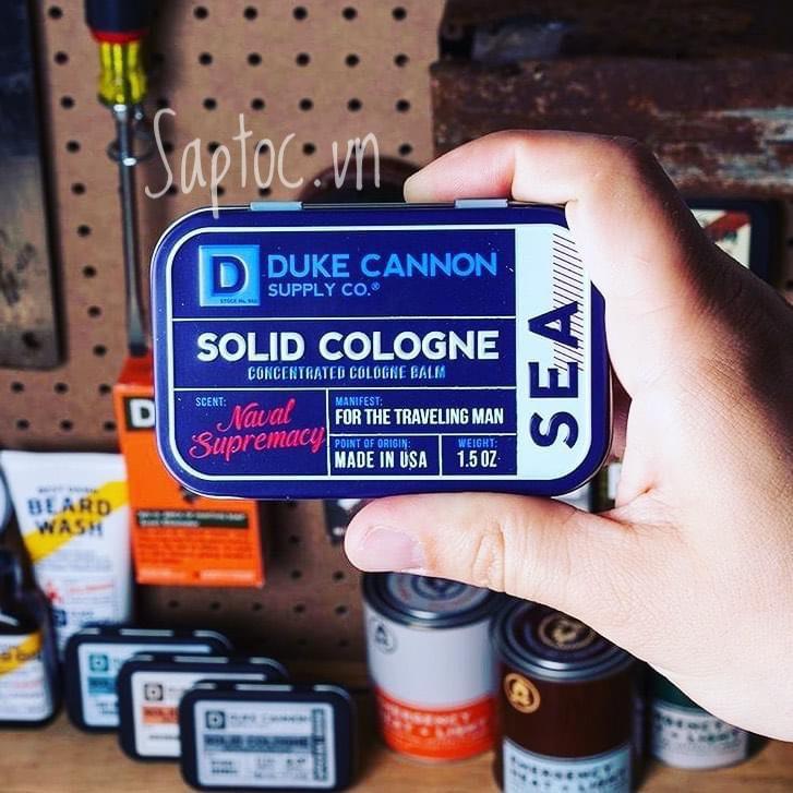 Nước hoa khô Duke Cannon Sea Solid Cologne