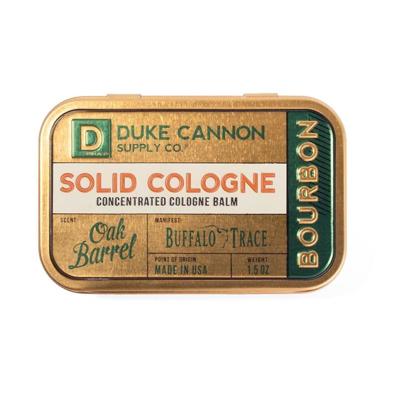 Nước hoa khô Duke Cannon Bourbon Solid Cologne