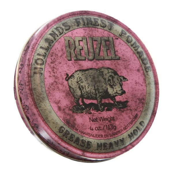 Pomade gốc dầu Reuzel Pink Heavy Hold