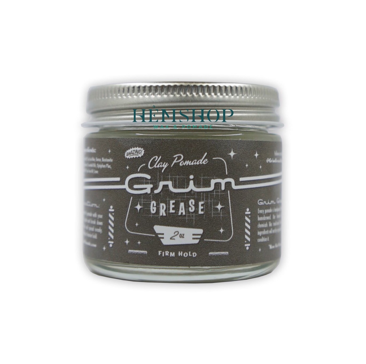 Grim Grease Clay Pomade 2.oz