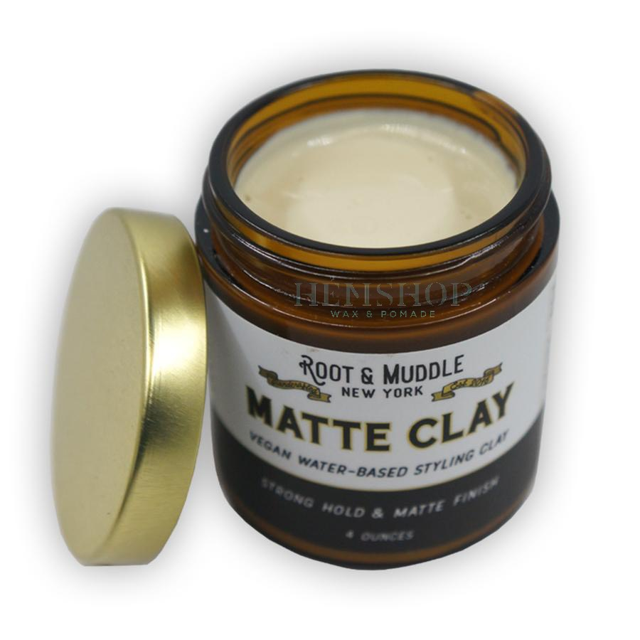 Sáp tóc Root and Muddle Matte Clay