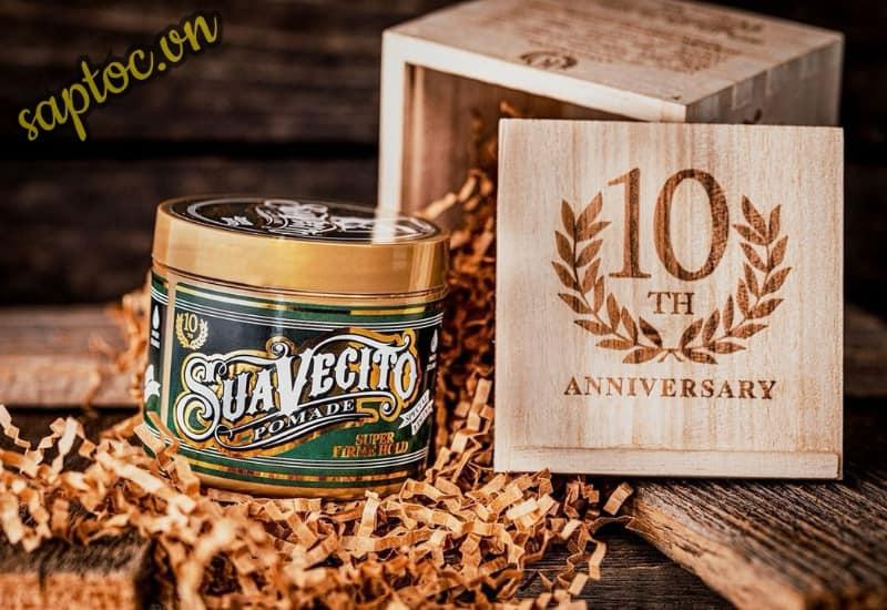 Suavecito 10th Anniversary Super Firme Hold Pomade
