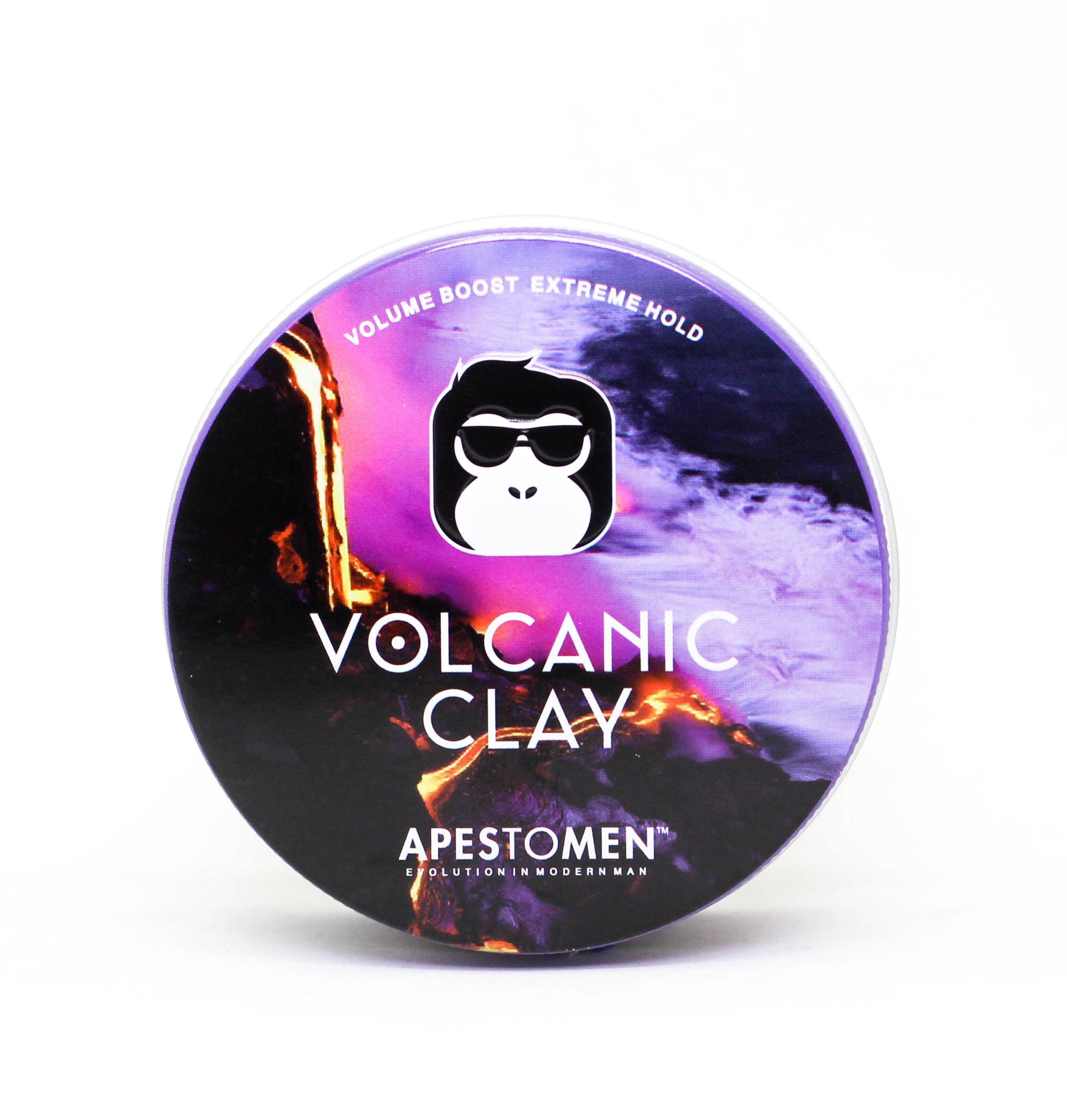 sáp tóc nam volcanic clay